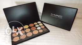 MAC 20 Colors Face Cream MC Makeup Contour Concealer Palette