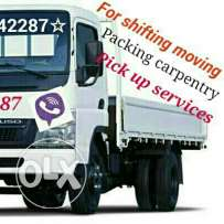 Moving shifting carpenter pick up transporting services call me