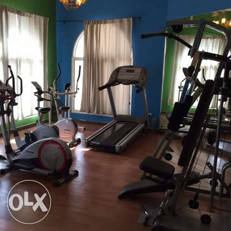 Luxury Semi FURNISHED 2-BR Big Flat in AL Nasr,Gymanisium