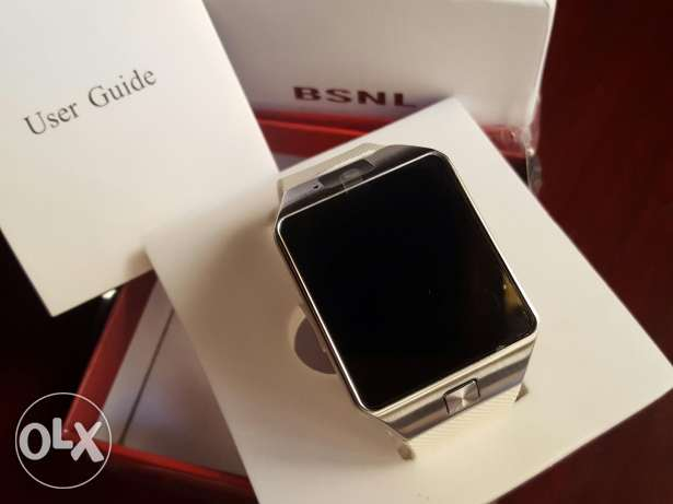 Special Edition White Smartwatch Mobile Phone