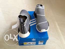 Adidas NMD City sock ** 100% Authentic** ( Glows in the Dark)