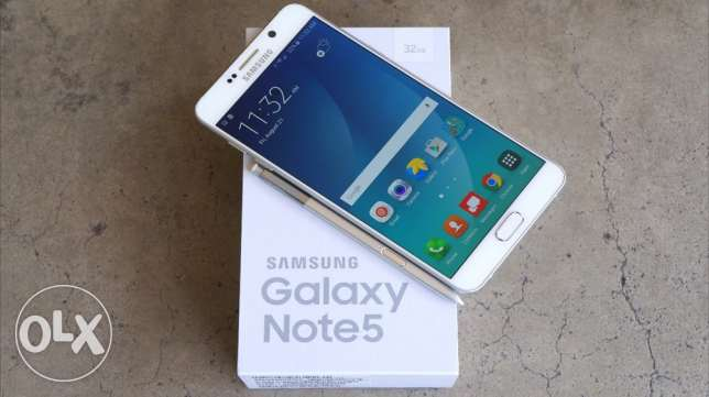 Note 5 dual sim in warranty