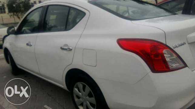 Nissan sunny 2014 low mileage