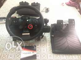 Logitech Gt steering wheel + Gran Turismo 6 for PS3 awesome bundle
