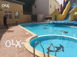 Unfurnished 5-BR Villa in AL Gharrafa, Pool, Gymanisium