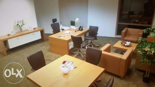 an Office for Rent exclusively available in Barwa Tower
