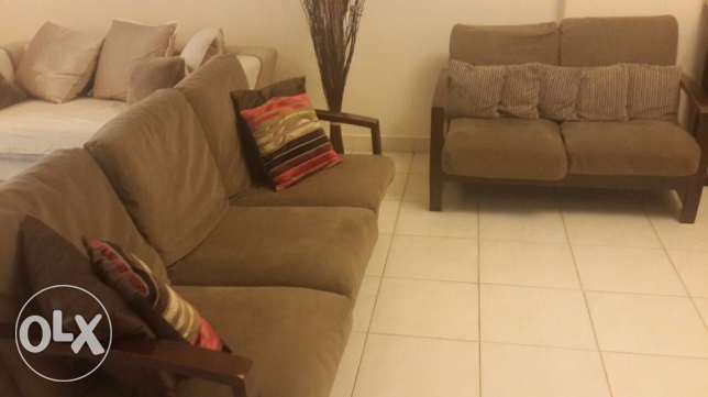 Home center Sofa set (3+2+1)