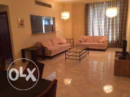 fully furnished 3 bhk apartment in al Sadd