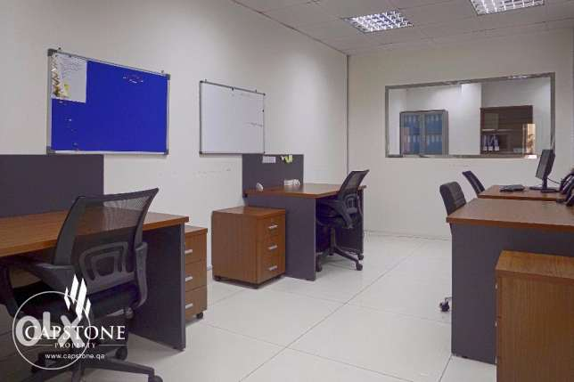Fully Partitioned Office Space in Najma