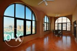 Fully Furnished Marina View 3+Maid's Room Penthouse in Porto Arabia