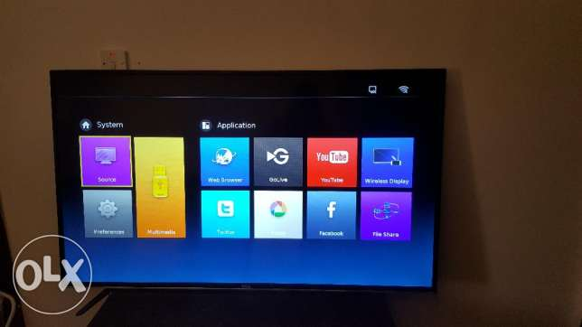 "55"" TCL Full Smart HD TV"