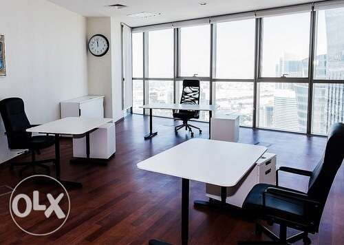 Office for rent in commercial azizia street