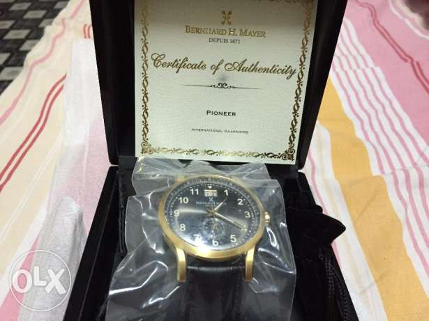 Bernard H Mayer(Pioneer) swiss made watch(Never used)