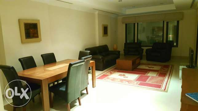 2bedroom fully furnished with big balcony in pearl porto Arabia for re الؤلؤة -قطر -  2