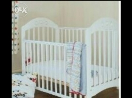 Mothercare cot with pocket spring mattress