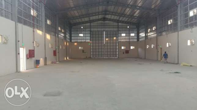 Warehouse in Doha Industrial Area