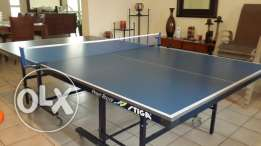"""STIGA"" Tennis Table, Net and Rackets"