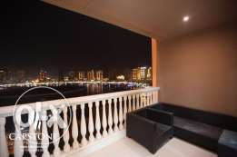 Luxury Apartment | 3BR Apt Overlooking Marina View.
