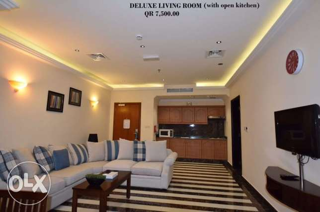 FF 1-Bhk Flat in Musherib+Daily House Keeping,Gym,Pool,Spa,Sauna المشيرب -  1