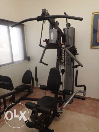 Body solid home Gym and leg press - as new