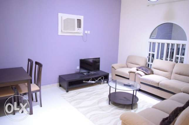 3 bhk semi furnished appartment available for bachelors in al ghanim
