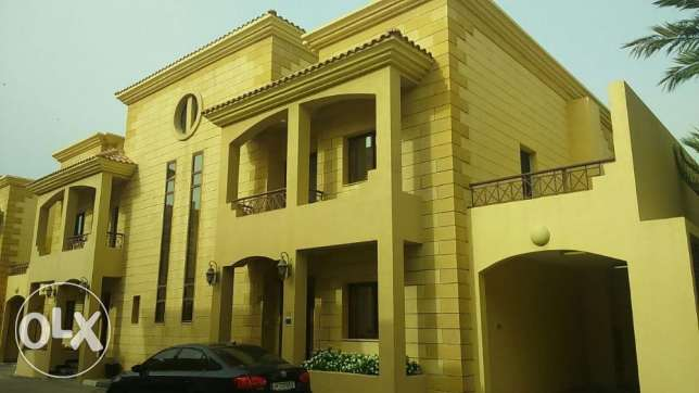 spacious semi furnished compound villa QAR 14000/-month