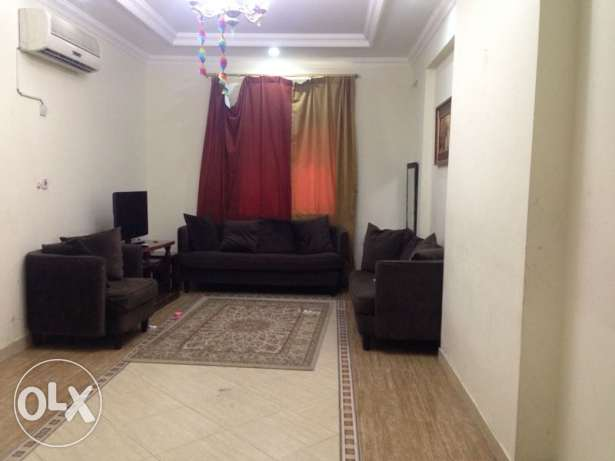 Fully Furnsihed, 2-Bedroom Flat in Al Sadd (Near Sports Roundabout)