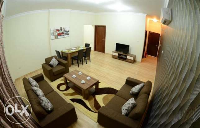 premium 2 bedroom fully furnished apartments in al nasr النصر -  1