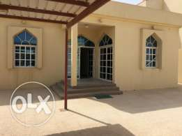 individual villa for family at al khor for rent