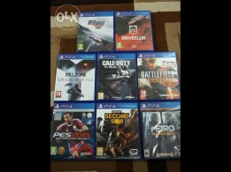 PS4 games for sale in good condition