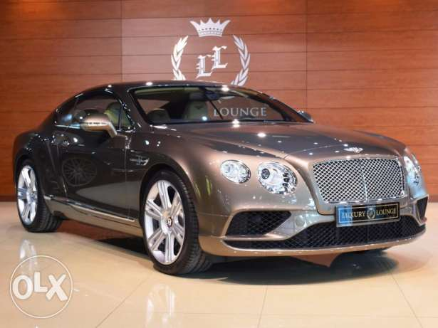 2016 Bentley GT Continental V8 , GCC ,FROM HABTOOR under Warranty