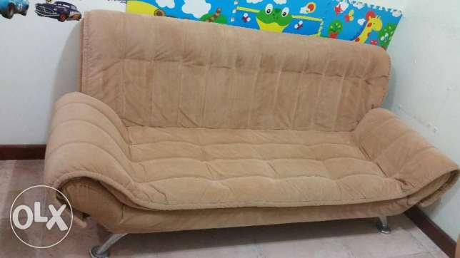 Home Center Sofa Bed 400 (original price 1500 rials) المنصورة -  1