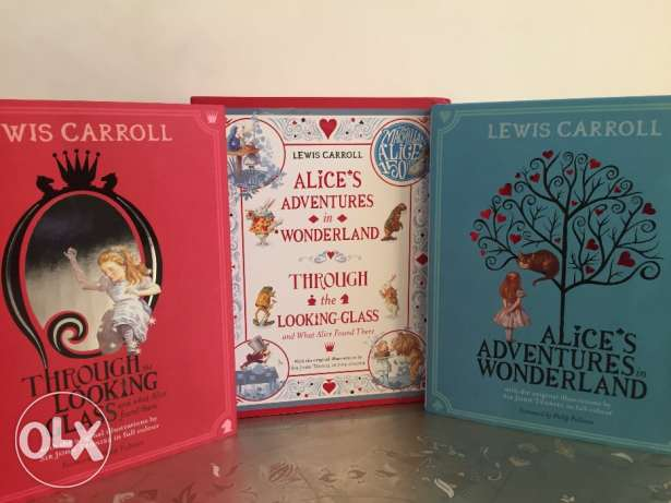 Alice in Wonderland - 2 Books