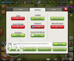 Clash of clans townHall 8 Max in egypt