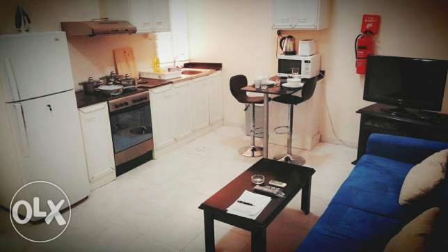 Fully Furnished 1BHK in Ain Khalid.