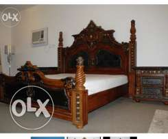 Antique style bedroom set