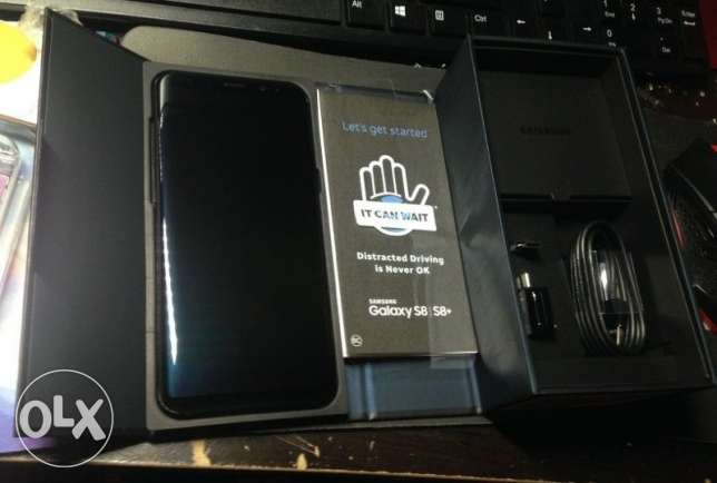 Samsung Galaxy S8+ Plus Midnight Black