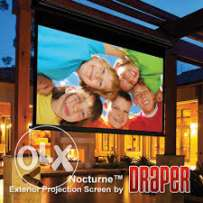 DRAPER Nocturne Series C Grey Projection Screen