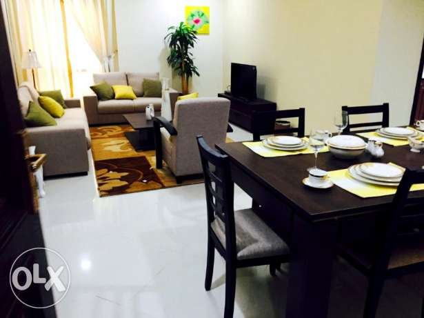 ASSKS - Furnished 2 BR Apartments with Facilities at Accessible Area