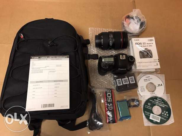 Canon EOS 5D Mark IV CMOS DSLR Camera Body 4K Video+ 150-600mm USD Zoo