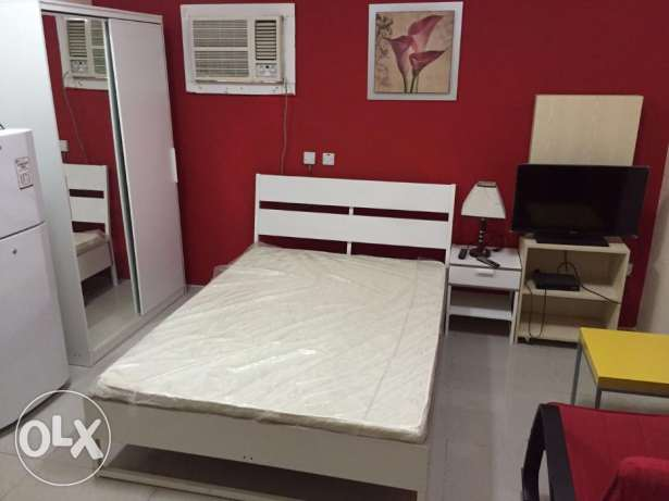 € 01 bed room flat available Ain khalid FF (W&E included)