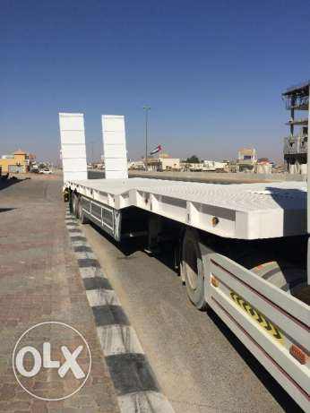 new low bed trailers in Saudi style 2017 model for sale