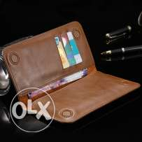 General Wallet Real Leather Case for all phones