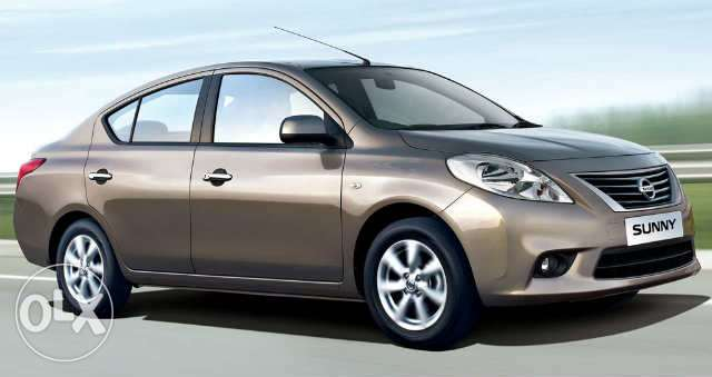 Brand new Nissan Sunny from QAR.1,465/p.m.
