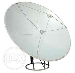 Airtel HD+ Settop box + Dish Antena(Big Size) With Cable for Sale نجمة -  2