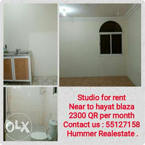 Studio for rent near Hayat blaza