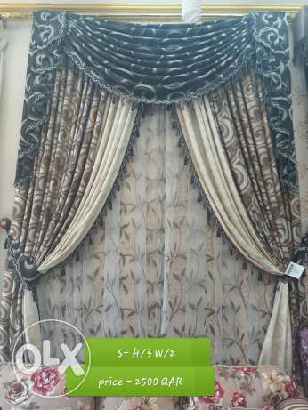 romania model classic curtain set