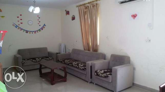2 BHK Fully furnished Pool view corner flat at Al Wakra
