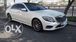 Mercedes S400 model 2015 full options accident free