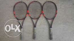 Babolat pure strike tennis rackets
